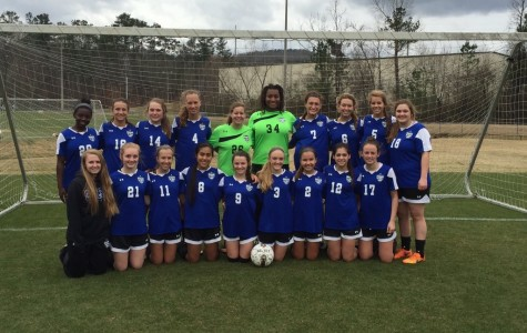 Girls soccer finishes 2nd at Lakeshore Shootout