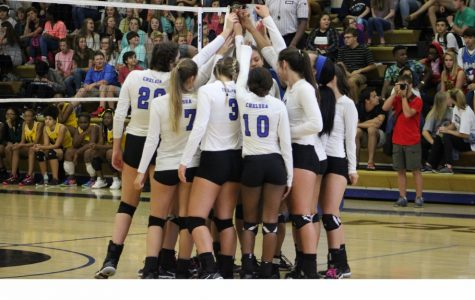 PHOTO GALLERY: Volleyball knocks off Jeff Davis