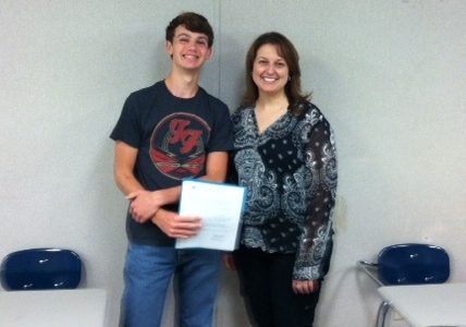 Chelsea's Robinson earns National Merit honor
