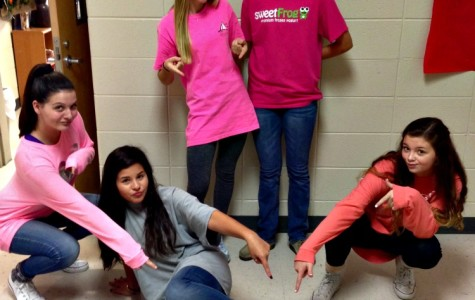 Hallway Photos: Pink Out Pell City!