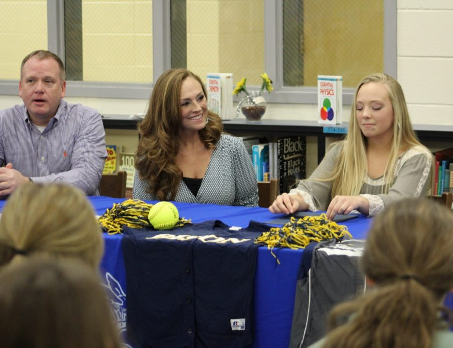 Kathryne Shoop will play softball at Southern Union Community College next season.
