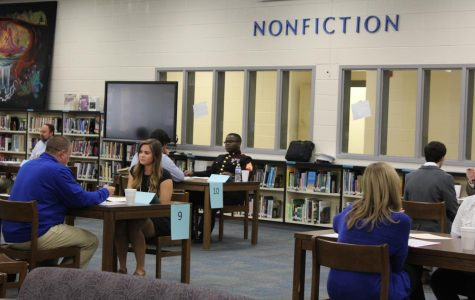 Photo Gallery: Senior Interview Day