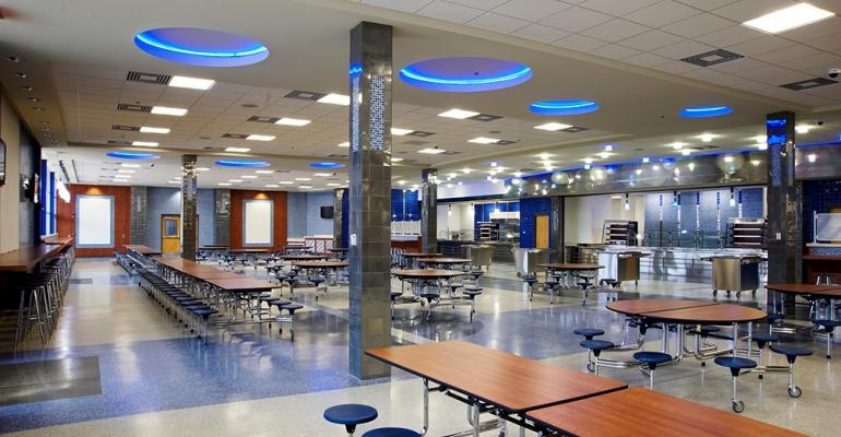 Students have more time to take advantage of the school cafeteria.