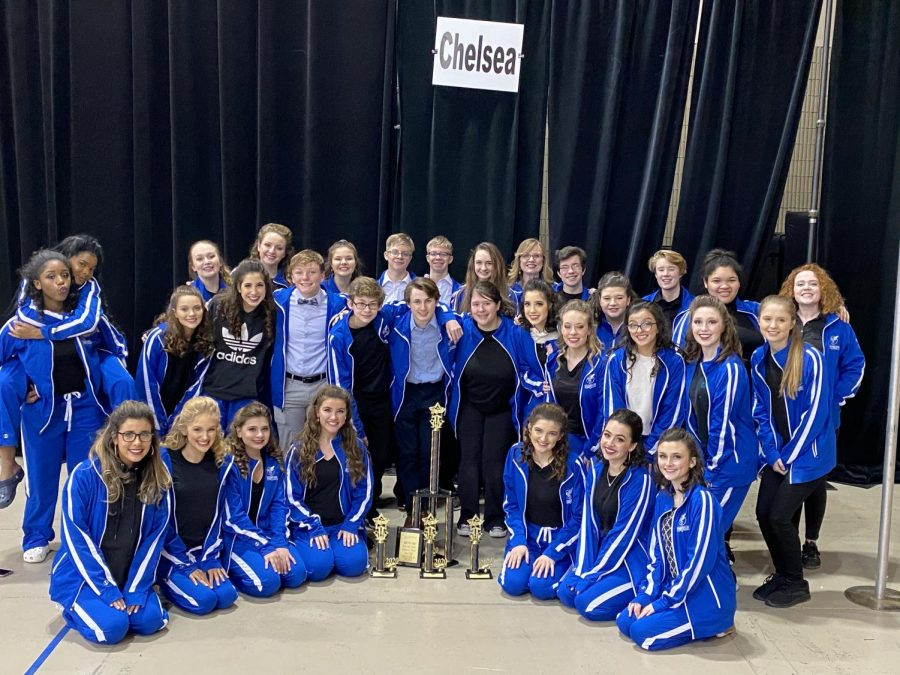 Show choir earns high marks at competitions