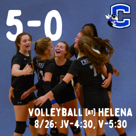 Volleyball is 5-0!