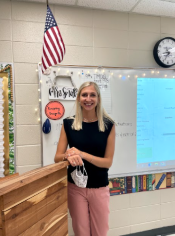 Mrs. Smith transitions into AP Lang for new school year