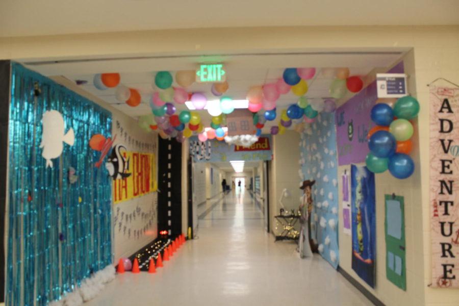 Gallery: Homecoming Hallways
